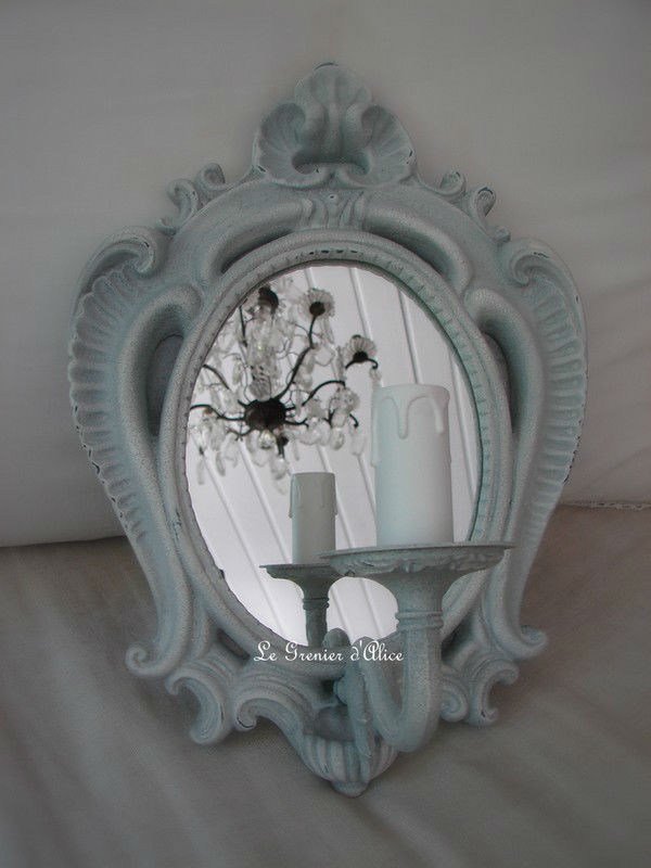 Applique miroir sans abj boutique for Miroir sans fin