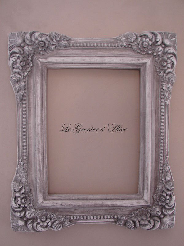 cadre patin style baroque patine shabby chic romantique decoration de charme frame french decor. Black Bedroom Furniture Sets. Home Design Ideas