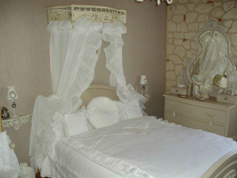 Galerie photos clients decoration de charme shabby chic - Deco chambre romantique chic ...