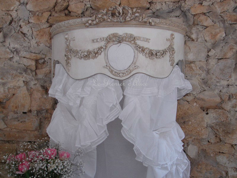 rideau shabby chic frou frou volant dentelle broderie broderie anglaise tulle. Black Bedroom Furniture Sets. Home Design Ideas