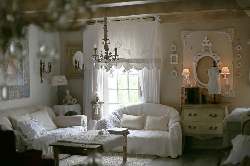 Le shabby chic shabby romantic d coration romantique for Decoration romantique